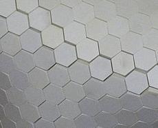 Mosaiksteine in Mattenform