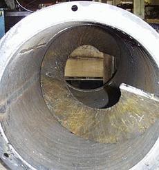Forderleitung mit Innenwendel